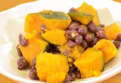 アトピーっ子、穀物菜食と離乳食(小豆かぼちゃレシピ)