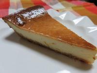 マーマレード入りチーズケーキ