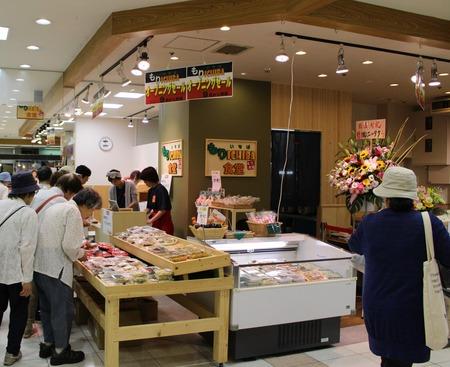 【市場食堂】市場アンテナショップ 完成☆