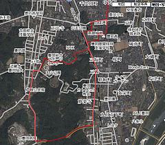 ジョギングシュミレーター-2(正法寺〜戸牧)-2