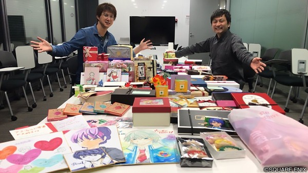 【朗報】学園キャラにバレンタインのプレゼントが大量に届いた模様のサムネイル画像