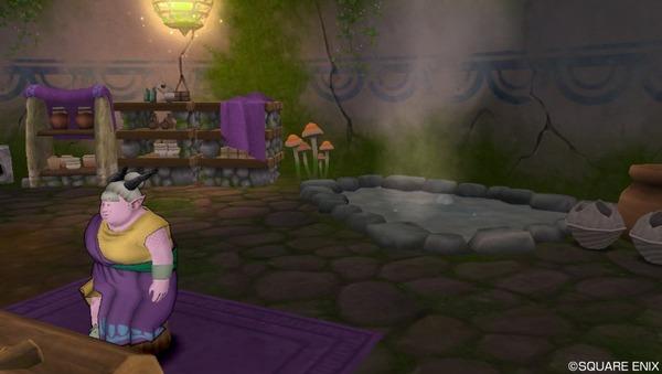 【ドラクエ10】メイヴ前は温泉入るのが最低限のマナーのサムネイル画像