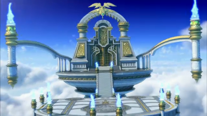 【ドラクエ10】ナドラガンドは浮遊大陸!? Ver4の舞台は魔界!? 不思議の魔塔の本棚すげえええええ!!!のサムネイル画像