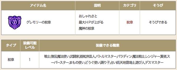 【ドラクエ10】「グレモリーの紋章」が出すぎなんだが・・のサムネイル画像
