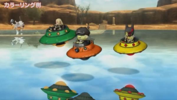 【ドラクエ10】4人乗りドルボード「空飛ぶ円盤」と「謎の飛行物体」プリズム来たー!のサムネイル画像