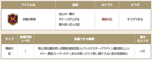 【ドラクエ10】新アクセ「忠義の勲章」がクリスマスプレゼントとして配布 ギュメイ将軍の報酬かのサムネイル画像