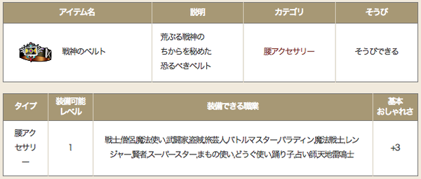 【ドラクエ10】「戦神のベルト」13%のハードルが高すぎる!のサムネイル画像