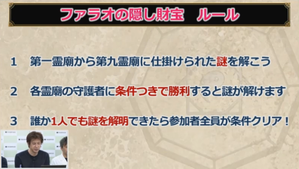 【ドラクエ10】「ファラオの隠し財宝」でありそうな条件は?のサムネイル画像