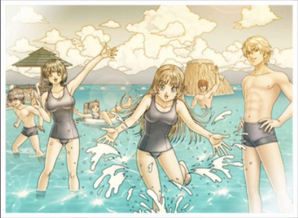 【朗報】スク水解禁でたぬき先輩の評価が急上昇 でけえええ!!!のサムネイル画像