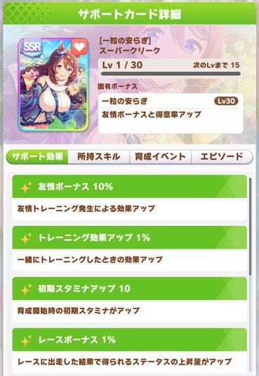 """【ウマ娘】「スーパークリークSSR」はイベントスキル""""円狐のマエストロ""""が神過ぎる!"""