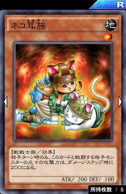 【遊戯王デュエルリンクス】海馬LV40には「ネコ耳族」が有効ってマジ!?のサムネイル画像