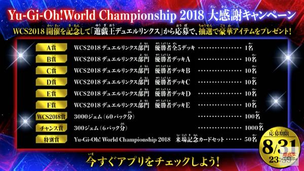 【速報】「遊戯王WCS2018 大感謝キャンペーン」開催!のサムネイル画像