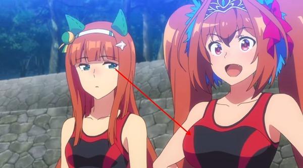 【ウマ娘】第9話予告のスズカの胸wwwwwのサムネイル画像