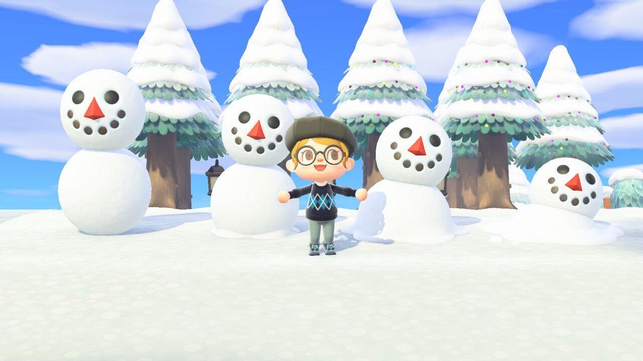 つもり 雪だるま あ 【あつ森】雪だるまの作り方と雪玉がない時の対処法【あつまれどうぶつの森】