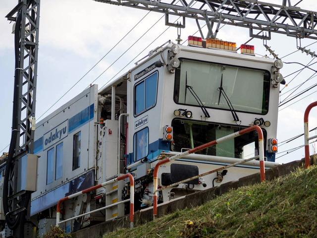 鉄路(小田急秦野駅そば)