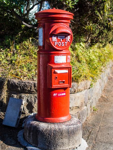 丸型郵便ポスト7