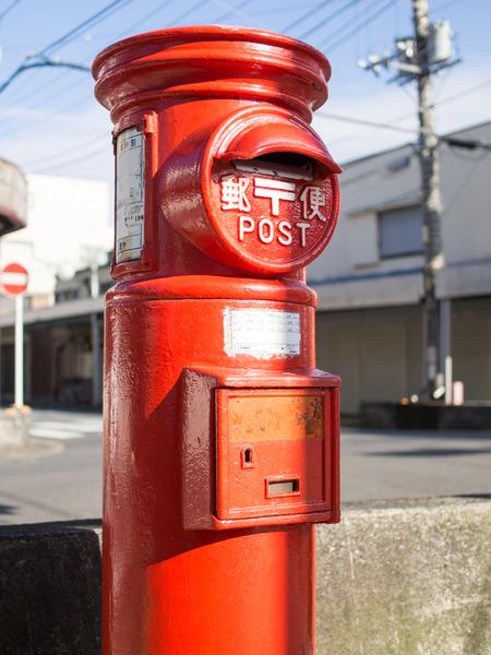 丸型郵便ポスト4