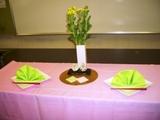 テーブル(ひな祭り)