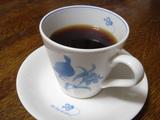 コーヒーカップの前面