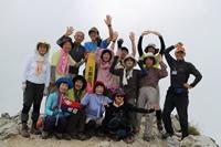 五竜岳山頂!!