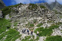 ザイテングラードの登り