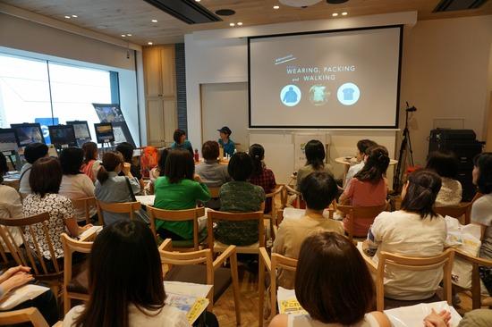銀座NAGANOのトークイベント