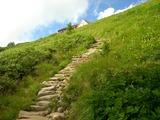 登り詰めれば種池山荘