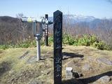 虫倉山山頂
