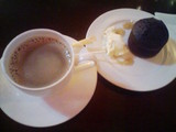 コーヒーとフォンダンショコラ