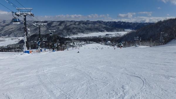五竜スキー場のとおみゲレンデ