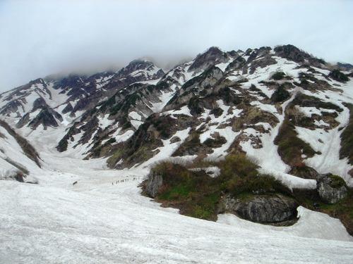 白馬岳と白馬大雪渓