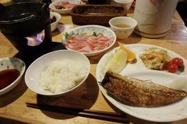 赤岳鉱泉の夕食♪