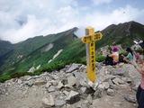 爺ヶ岳南峰の山頂