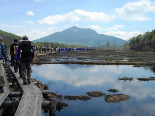 燧ケ岳(2,356m)と尾瀬ヶ原