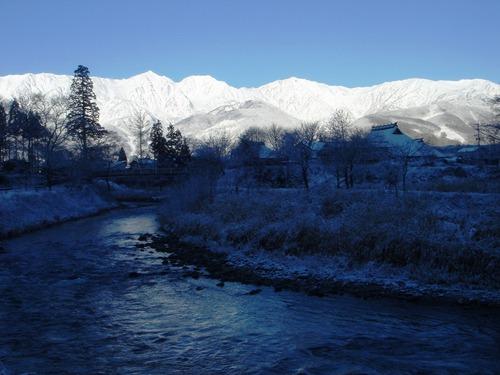 今日の白馬三山 2010年12月17日