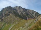 五竜山荘と五竜岳