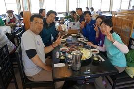 ジンギスカンの焼き肉&お蕎麦でハッピー☆