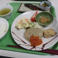 原の小屋さんの夕食(実物)