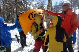 """スキーメーカー""""K2""""さんによるエアバッグのシュミレーションも"""