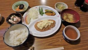 真砂沢ロッジさんの夕食(松@2,500円)