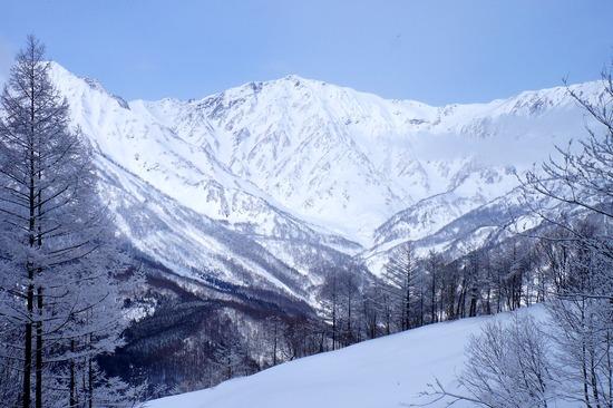 白馬岳の眺めは抜群