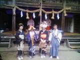 飯田神明社にて