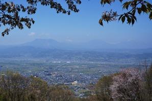 北信五岳の展望台です