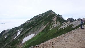 唐松岳頂上山荘なら見た唐松岳