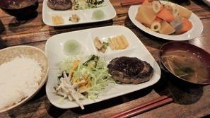 黒百合ヒュッテさんの夕食
