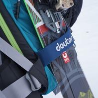 スキー取り付け用のアタッチメントが丈夫です