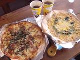 ピザ専門店「ルイス」のピザ