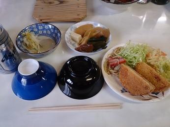 蓮華温泉の夕食