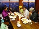 白馬山荘のレストラン「スカイプラザ」でディナー♪