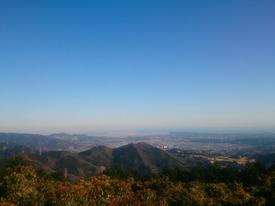 シダンゴ山頂からの景色